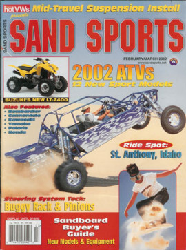 Buckshot Racing Makes the Cover of Sand Sports Magazine